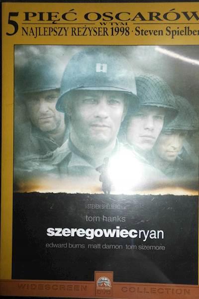 Szeregowiec Ryan - DVD