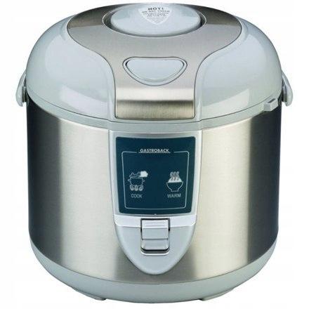 Gastroback Rice cooker 42507 Inox/ White, 450 W, C