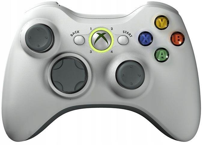 Pad Xbox 360 BIAŁY Oryginalny Kontroler SKLEP AHS