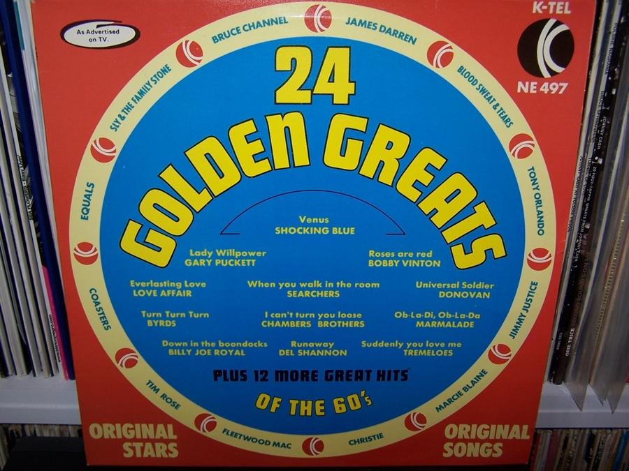 24 Golden Greats Of The 60's LP Fleetwood Mac