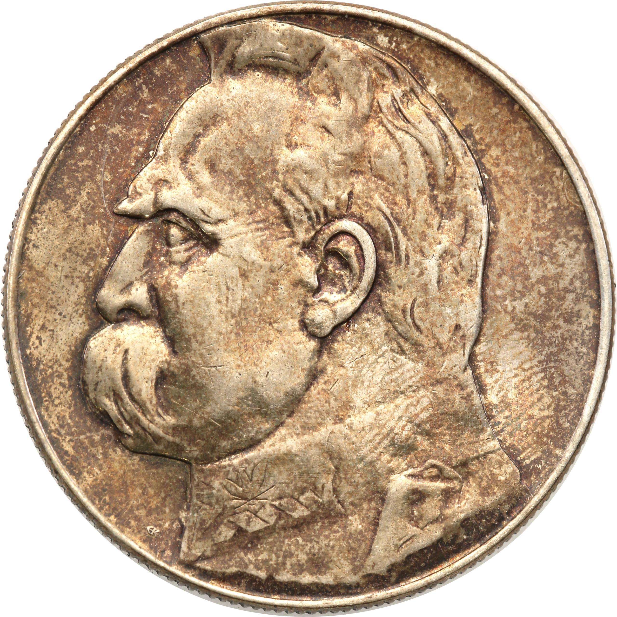II RP 10 złotych 1934 Piłsudski st.2-