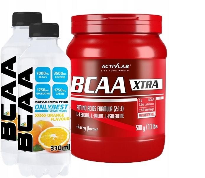 ActivLab BCAA XTRA 500g - AMINOKWASY BCAA