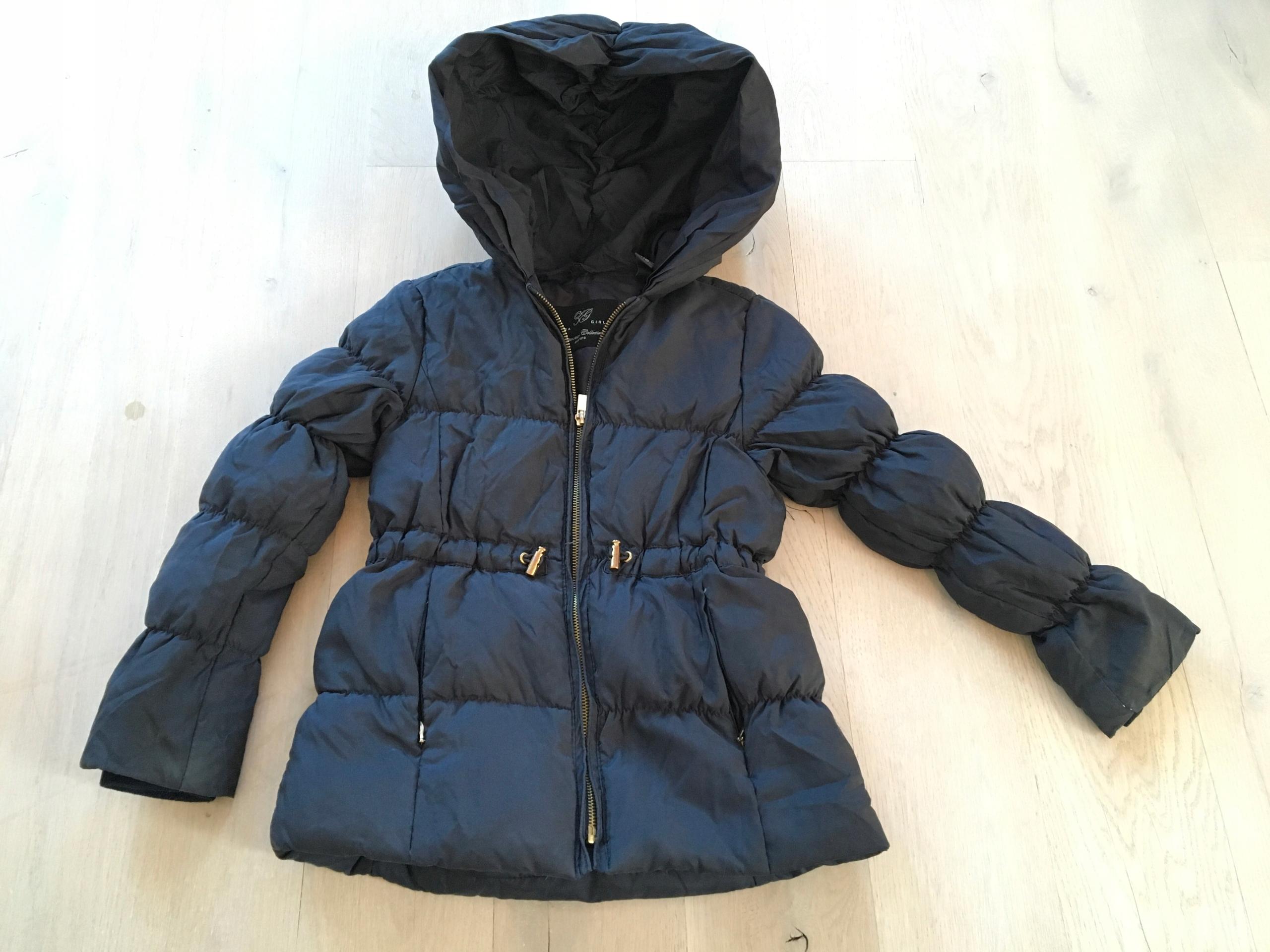 Piękna kurtka puchowa Zara Kids Girls 118cm 5-6 l