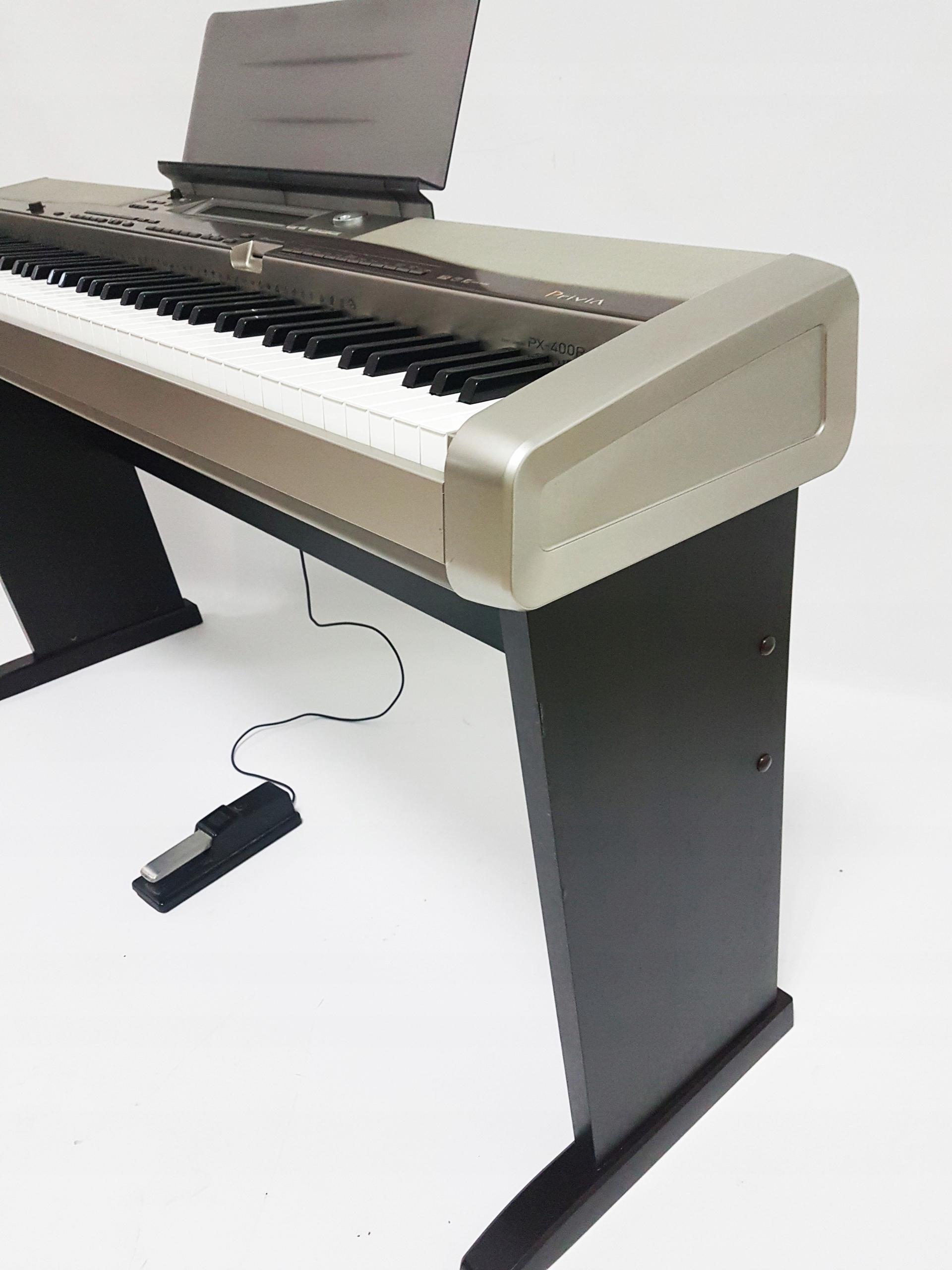 Pianino cyfrowe Casio PX400R, PX-400R - 7849544510