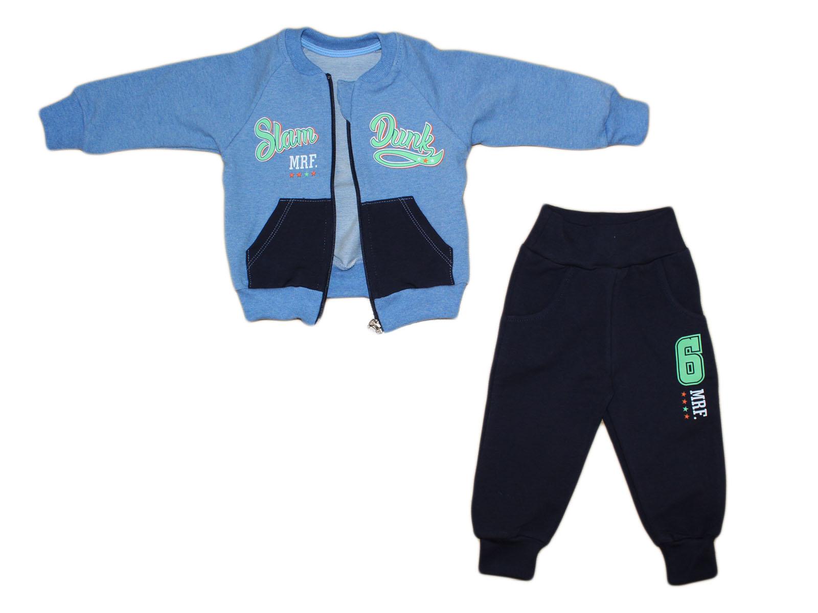 d34d0653833235 MROFI Dres dziecięcy Bluza + Spodnie Slam Dunk 86 - 7342794890 ...
