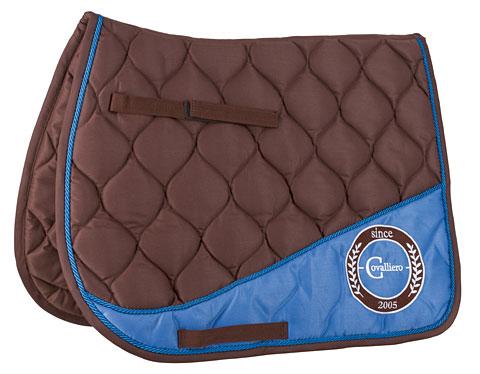 Covalliero czaprak wszechstronny brązowy-niebieski