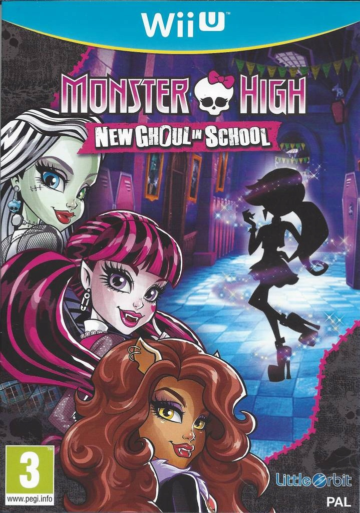Monster High New Ghoul in School Nintendo Wii U