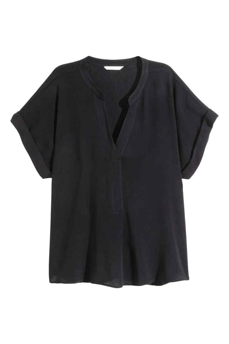 H&M bluzka z krótkim rękawem rozm. 36(S)