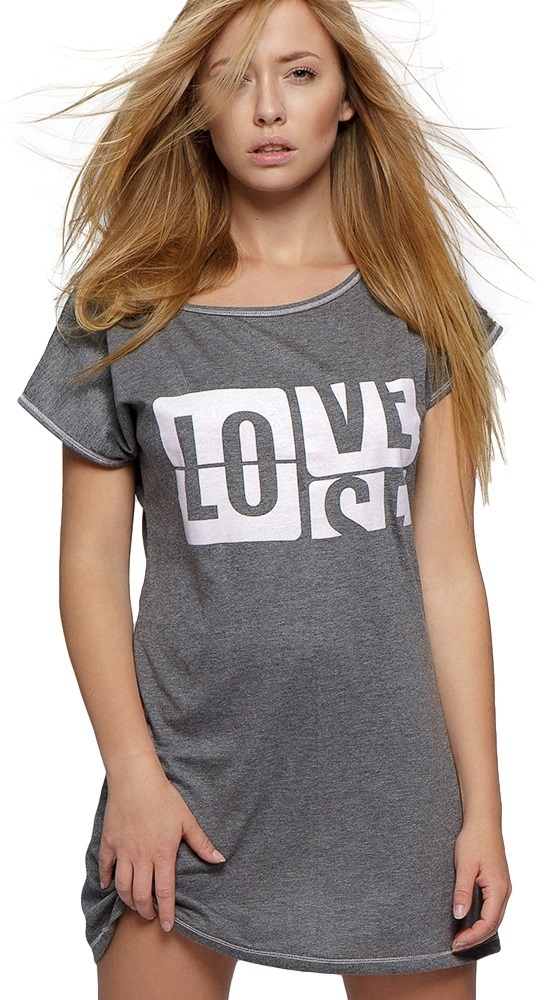 1590 Koszulka LOVE Sensis ~ napis ~ bawełna ~ XL