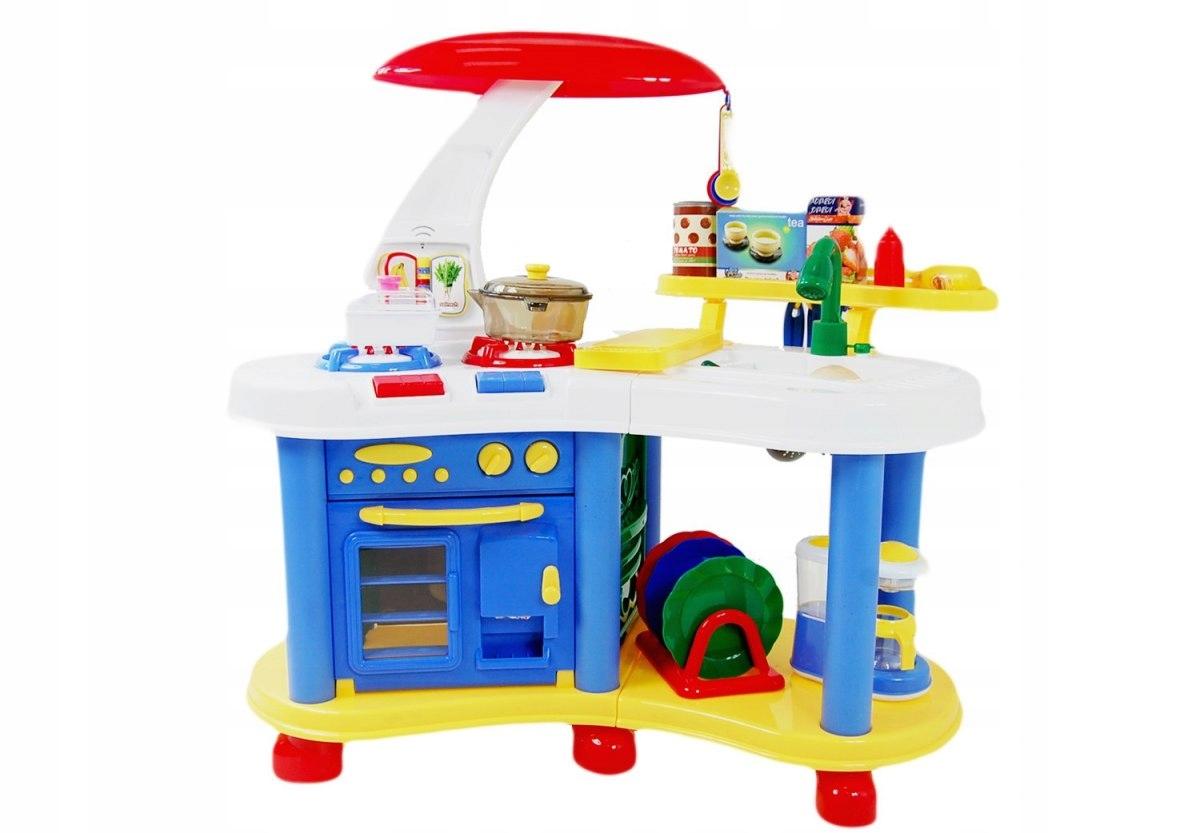 Kuchnia Dla Dzieci Duża Z Pełnym Wyposażeniem Hit