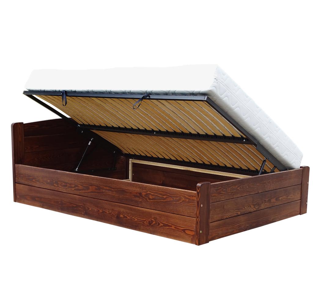 Onyx 90x200 łóżko Z Pojemnikiem Na Dowolny Wymiar