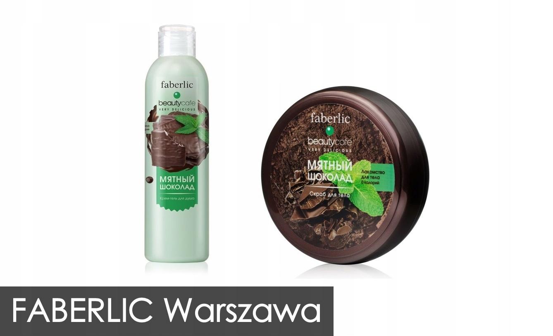Zestaw BC mięta czekolada żel + scrub FABERLIC