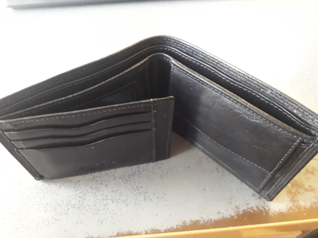 60e8bff6591f5 Sprzedam portfel męski DECUERO skóra - 7265802757 - oficjalne ...