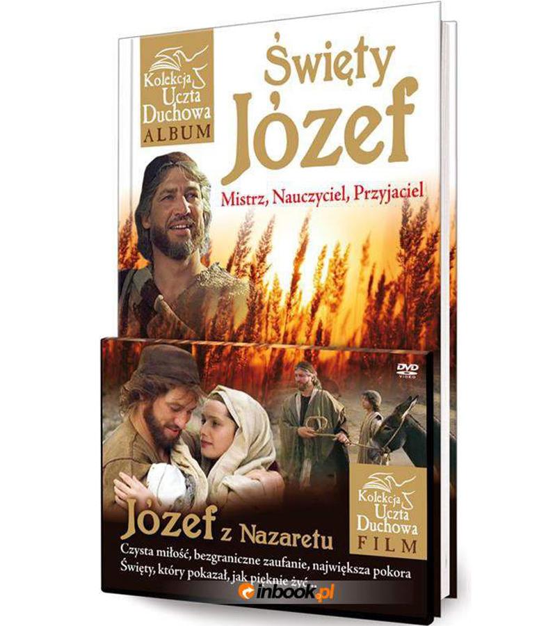 Święty Józef z Nazaretu Uczta Duchowa Album + DVD