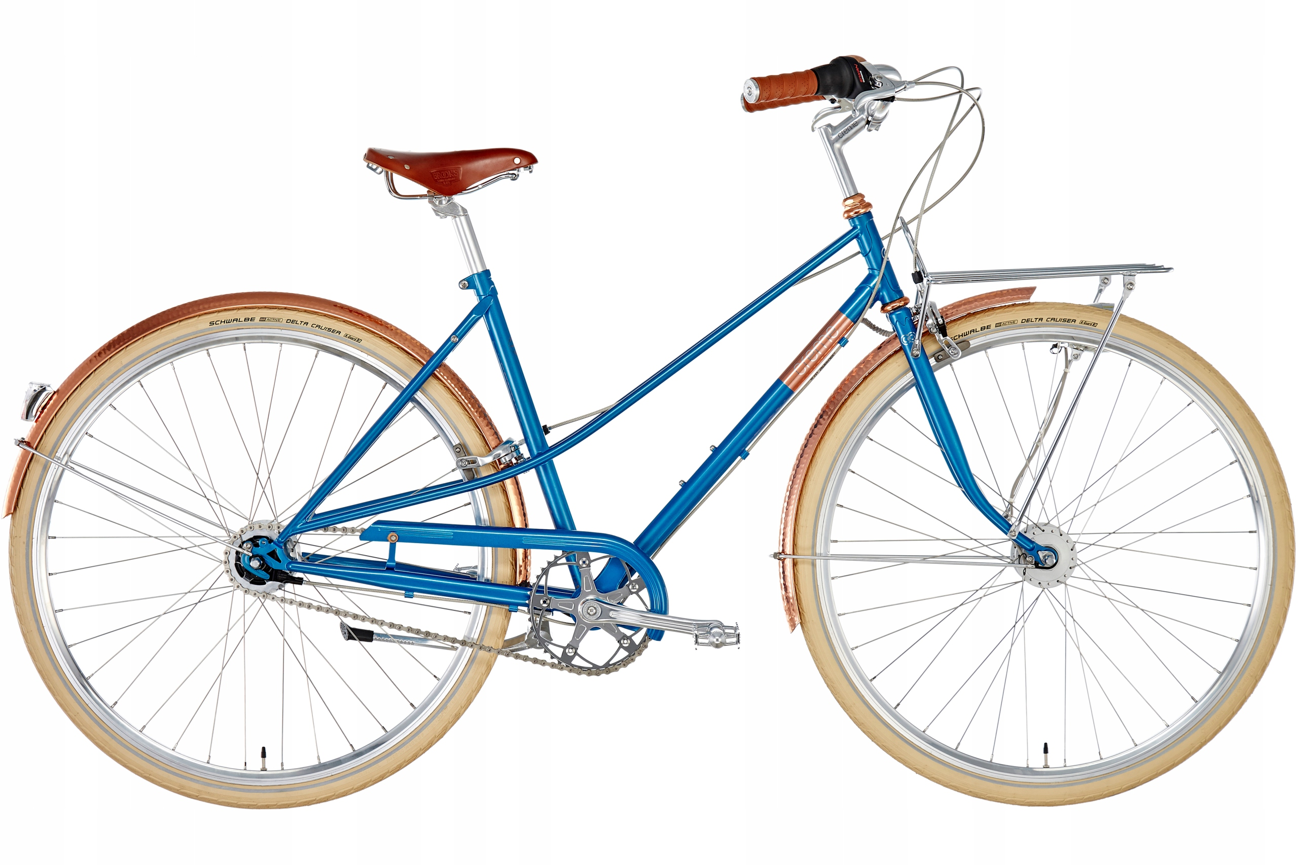 Rower Holenderski Damski 28 Caferacer NEXUS 7