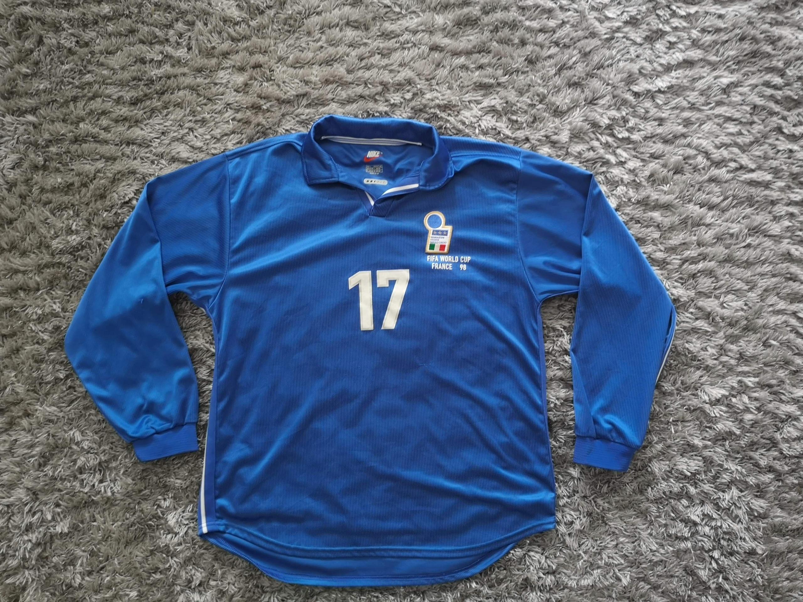 Nike ITALIA WORLD CUP FRANCE 98 MORIERO 17 MECZOWA