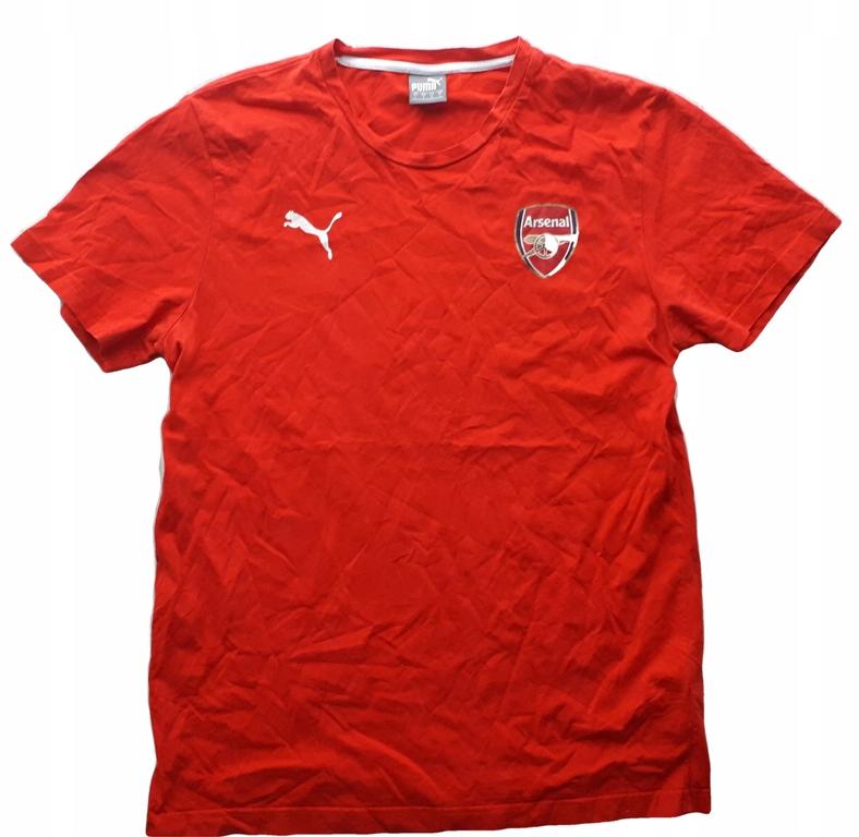 Puma L ARSENAL Londyn koszulka bawełniana T-Shirt