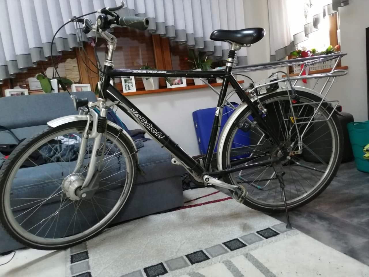 rower kalkhoff q3 black voyager rozmiar XL elektr.