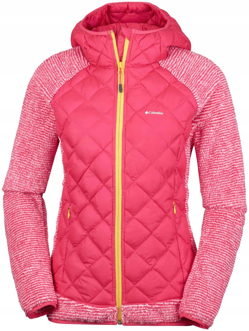 Polar damski Columbia Techy Hybrid Fleece-red S