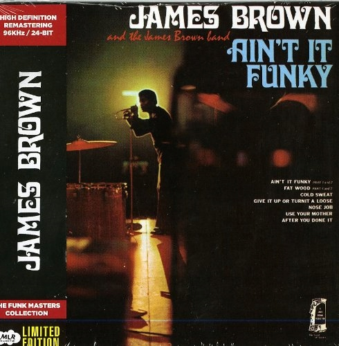 CD Brown, James - Ain`t It Funky Limited Collector