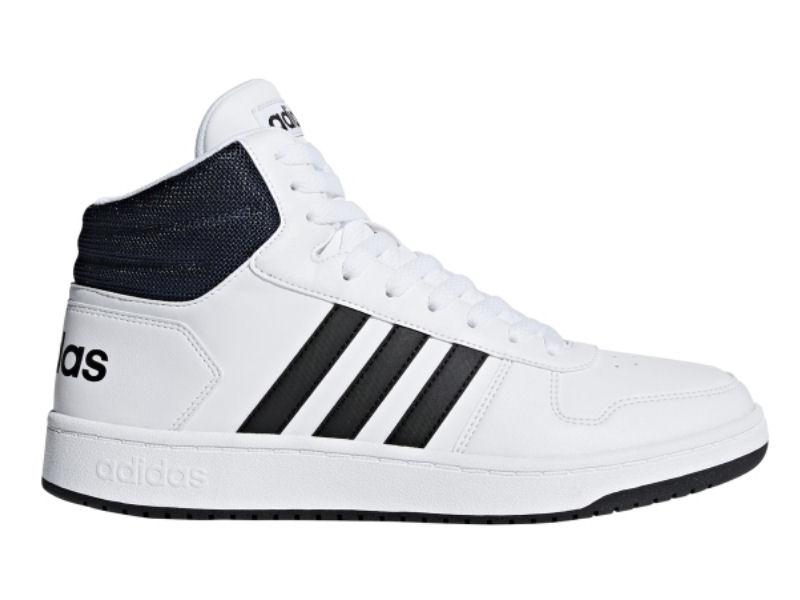 adidas wysokie biale buty meskie z zamszu