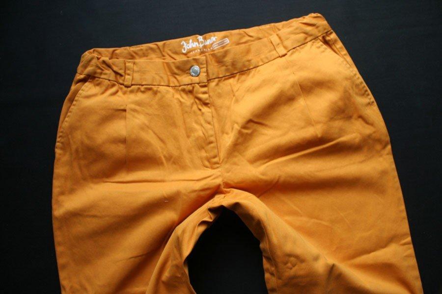JOHN BANER letnie SPODNIE CHINO SLIM LEG 164 S / M