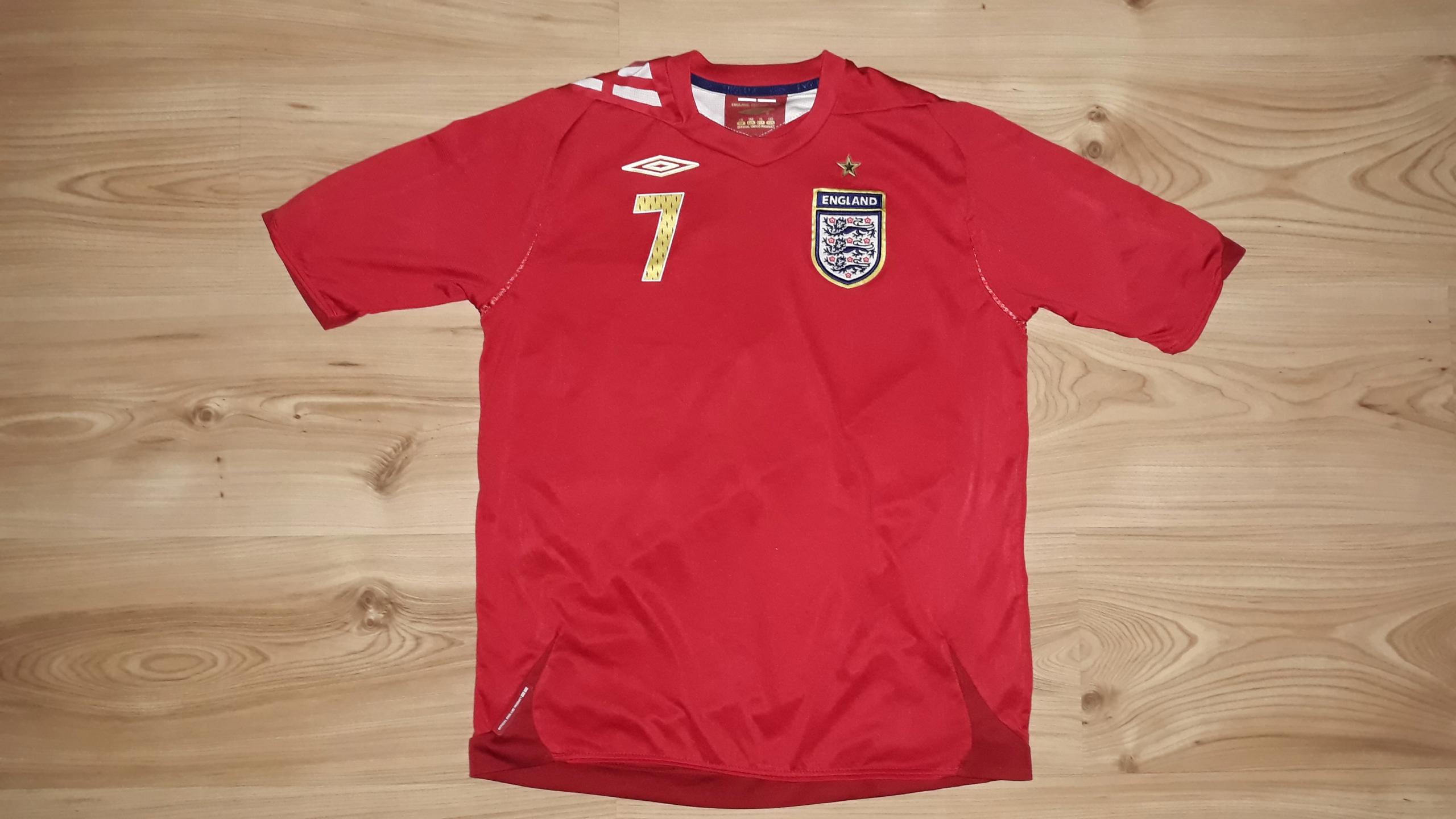 Koszulka Umbro L Beckham 7 Anglia England Anglii