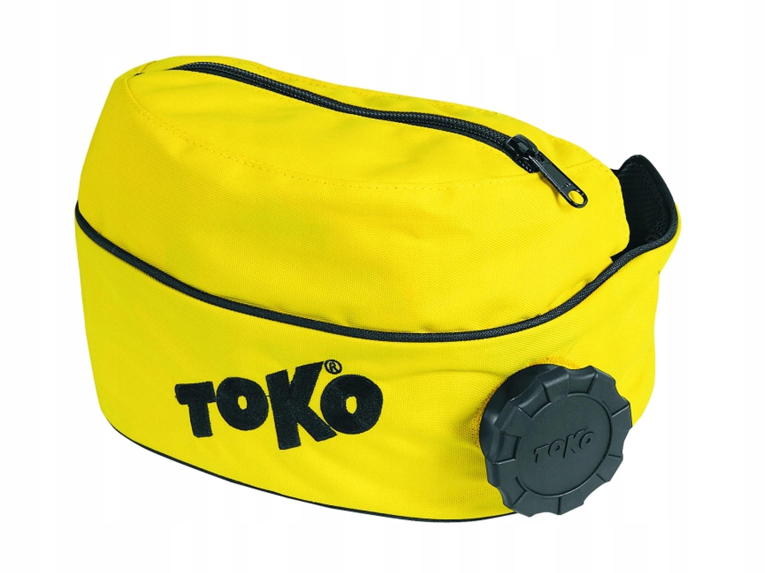 Pas z bidonem Termos Nordic TOKO żółty- Bidon