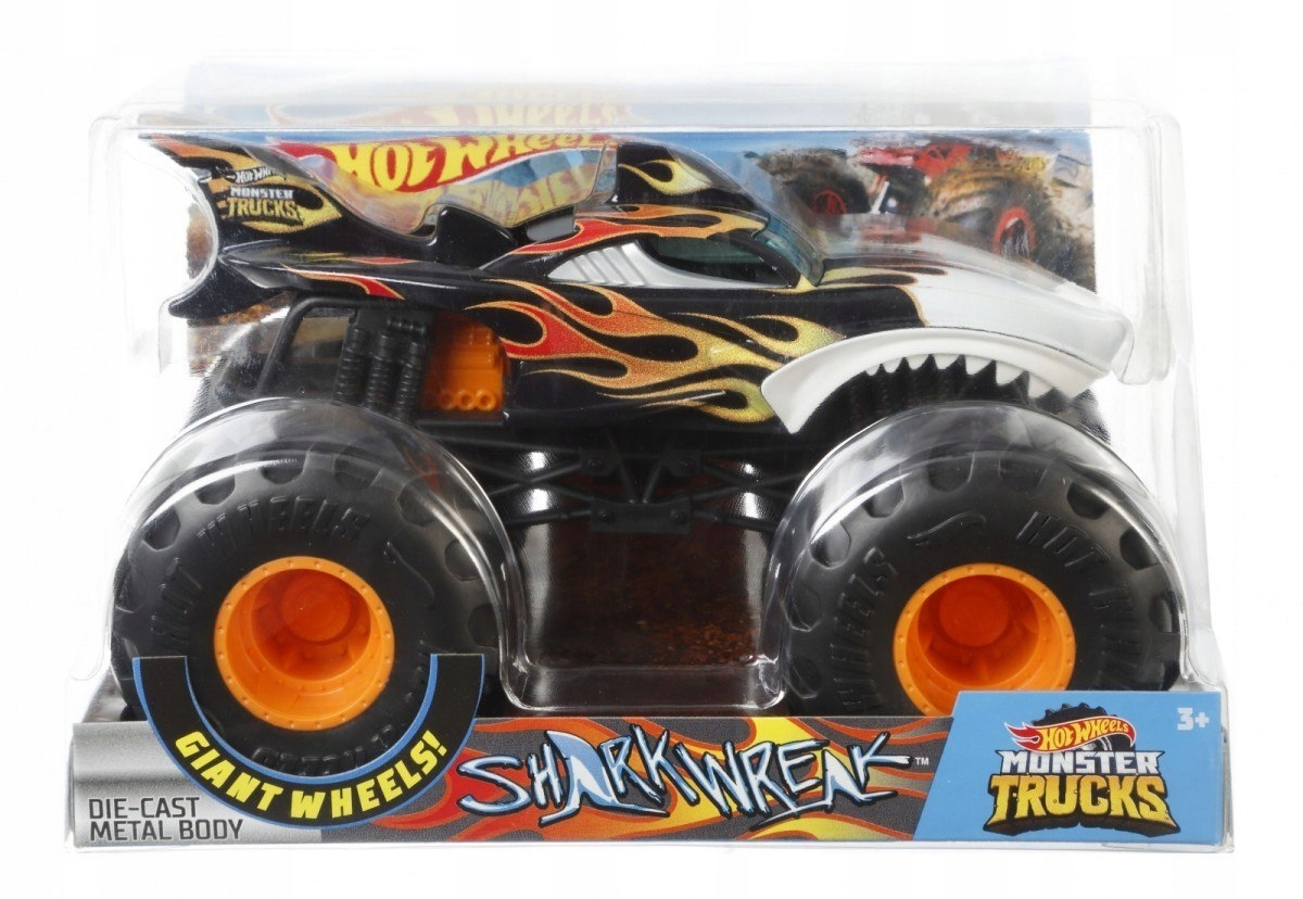 Pojazd Monster Trucks Shark