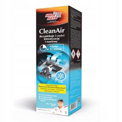 Moje Auto dezynfekcja klimatyzacji zapach Arctic