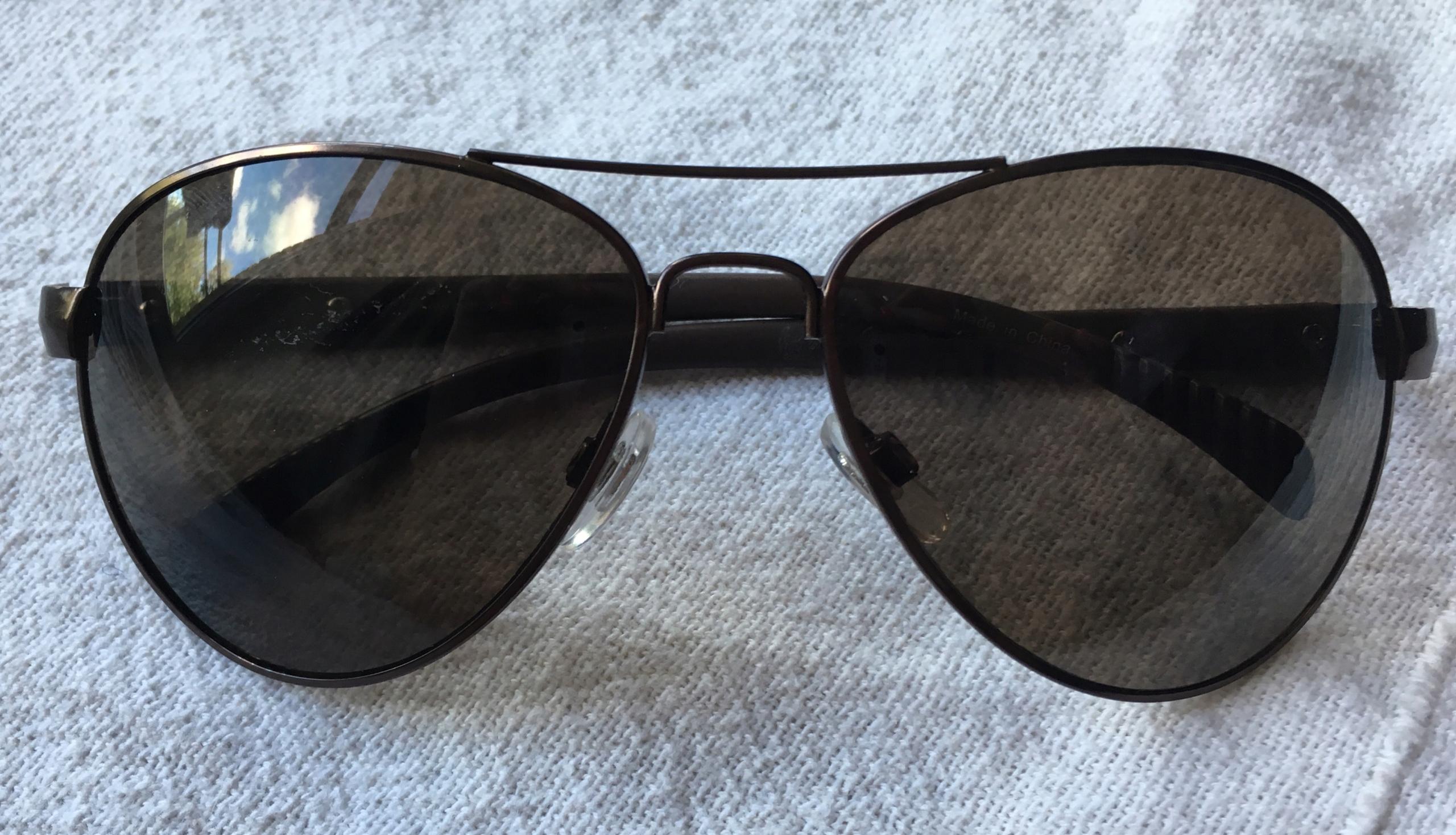 New balance okulary przeciwsłoneczne aviatorki NB