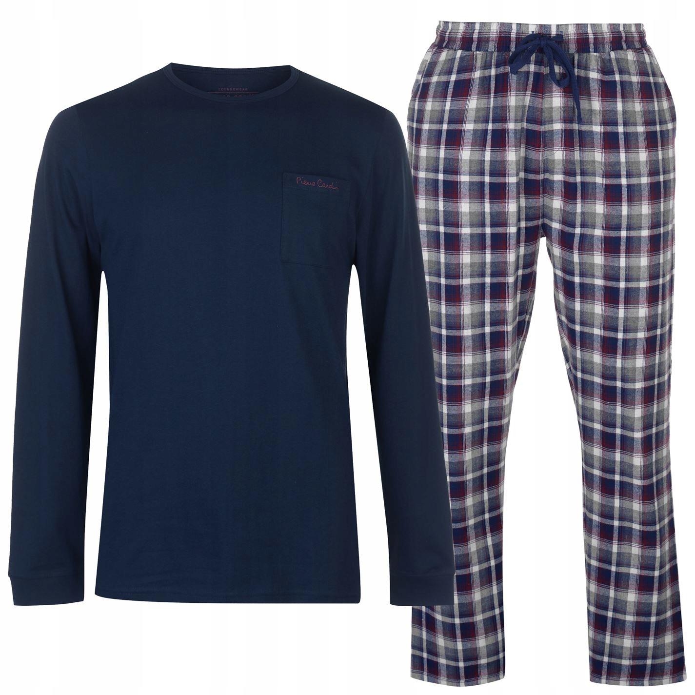 Piżama PIERRE CARDIN spodnie koszulka Tu XXL