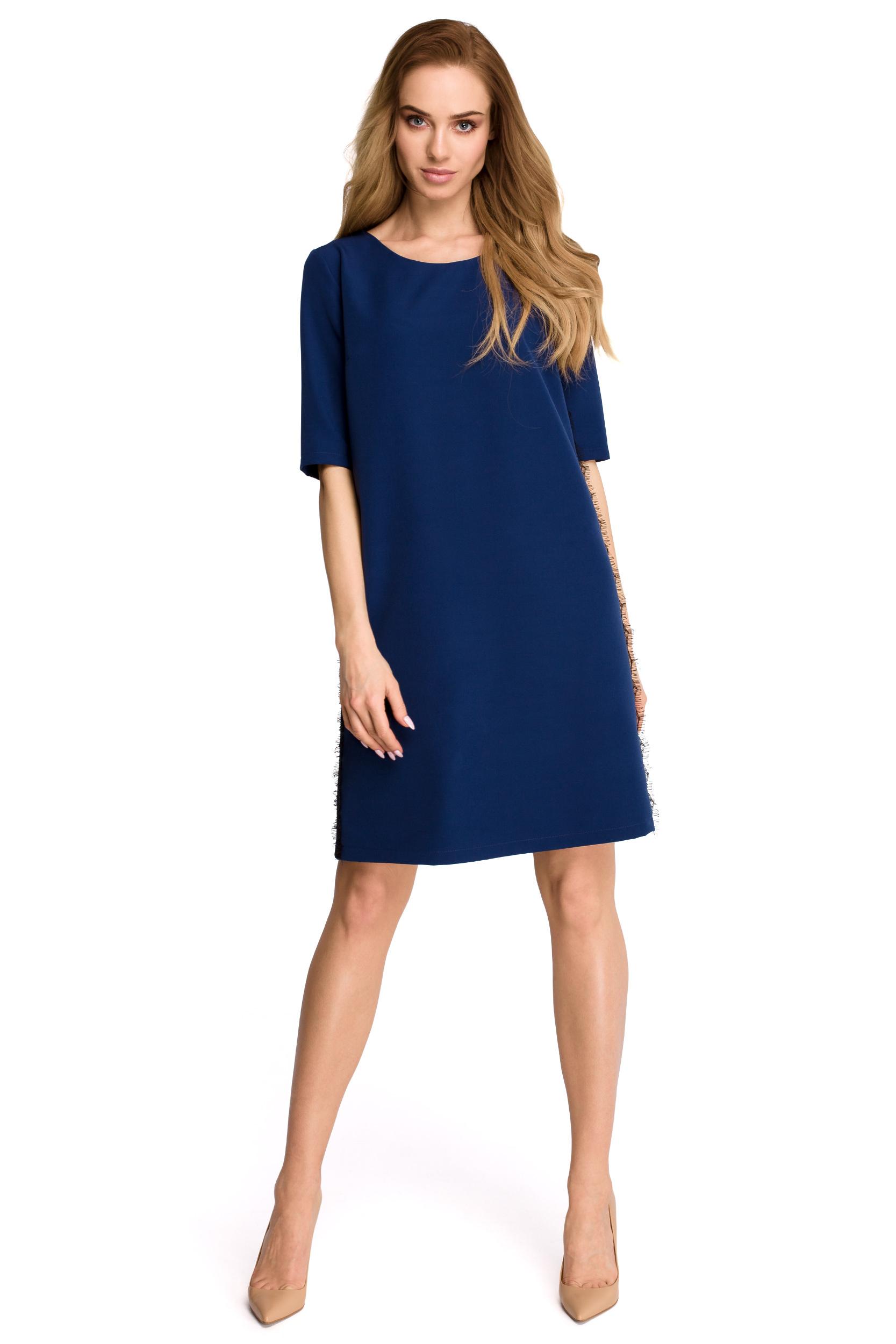 b335f2ad8c Elegancka prosta niedopasowana sukienka luźna - 7709978602 ...