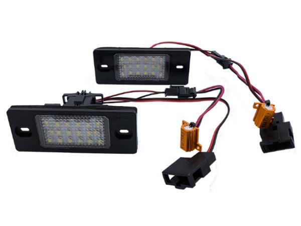 Lampki Tablicy Rejestracyjnej Led Vw Passat B5 Fl