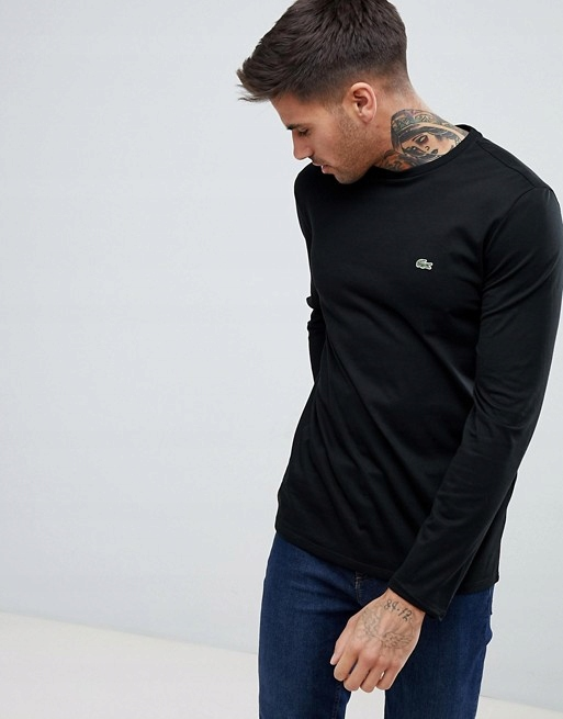 Lacoste Rozmiar M Koszulka Bluza Long Sleeve Men