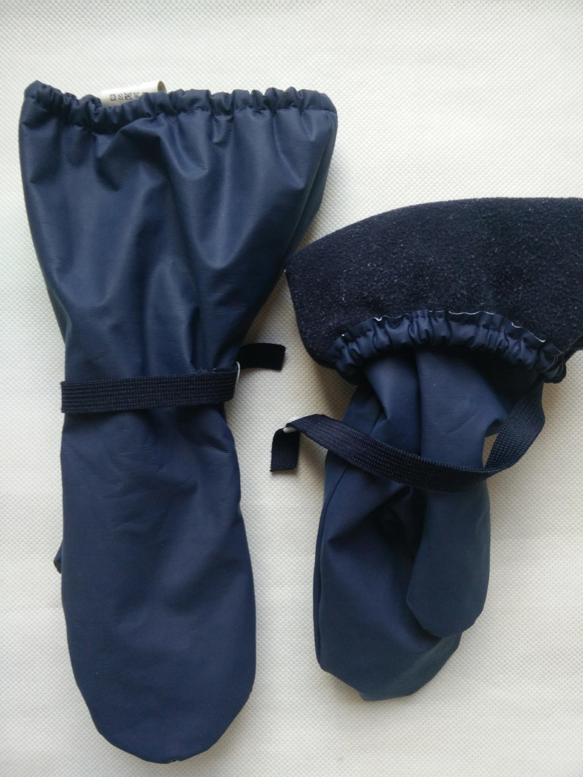 Rękawiczki dziecięce nieprzemakalne na polarze 116
