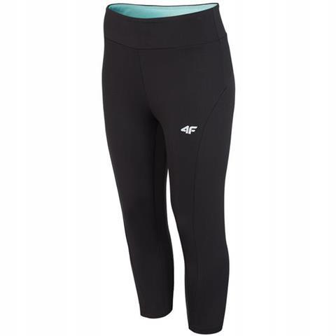 Spodnie damskie fitness 4F głęboka czerń size L