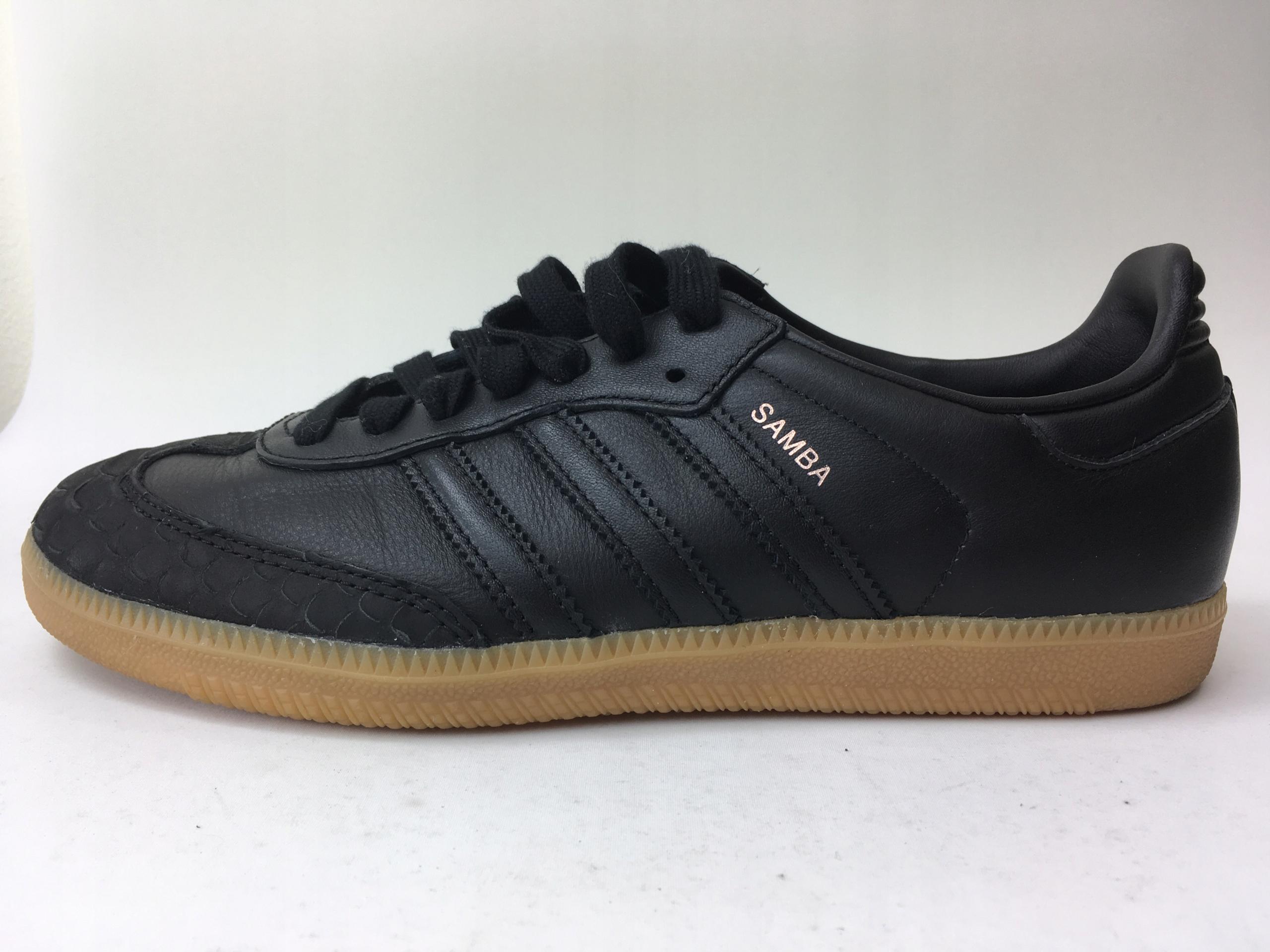 158 adidas samba sneakersy niskie czarne 38 2/3