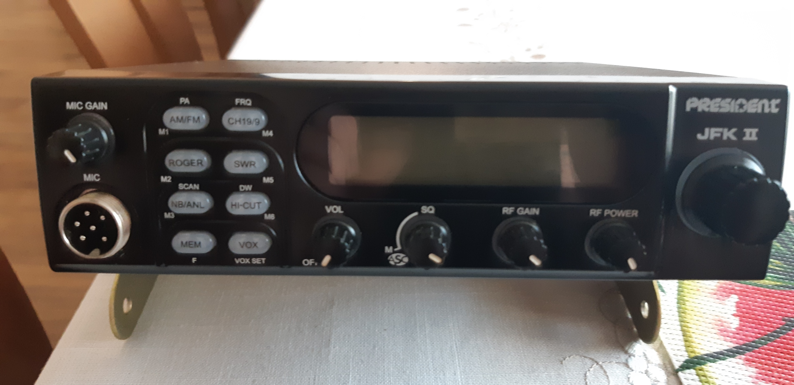 PRESIDENT JFK II ASC RADIO CB AM/FM SWR