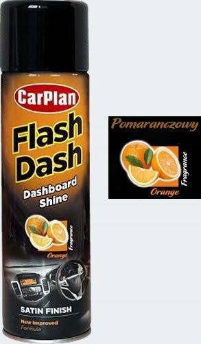 CARPLAN FLASH DASH Pianka do kokpitu Pomarańcza