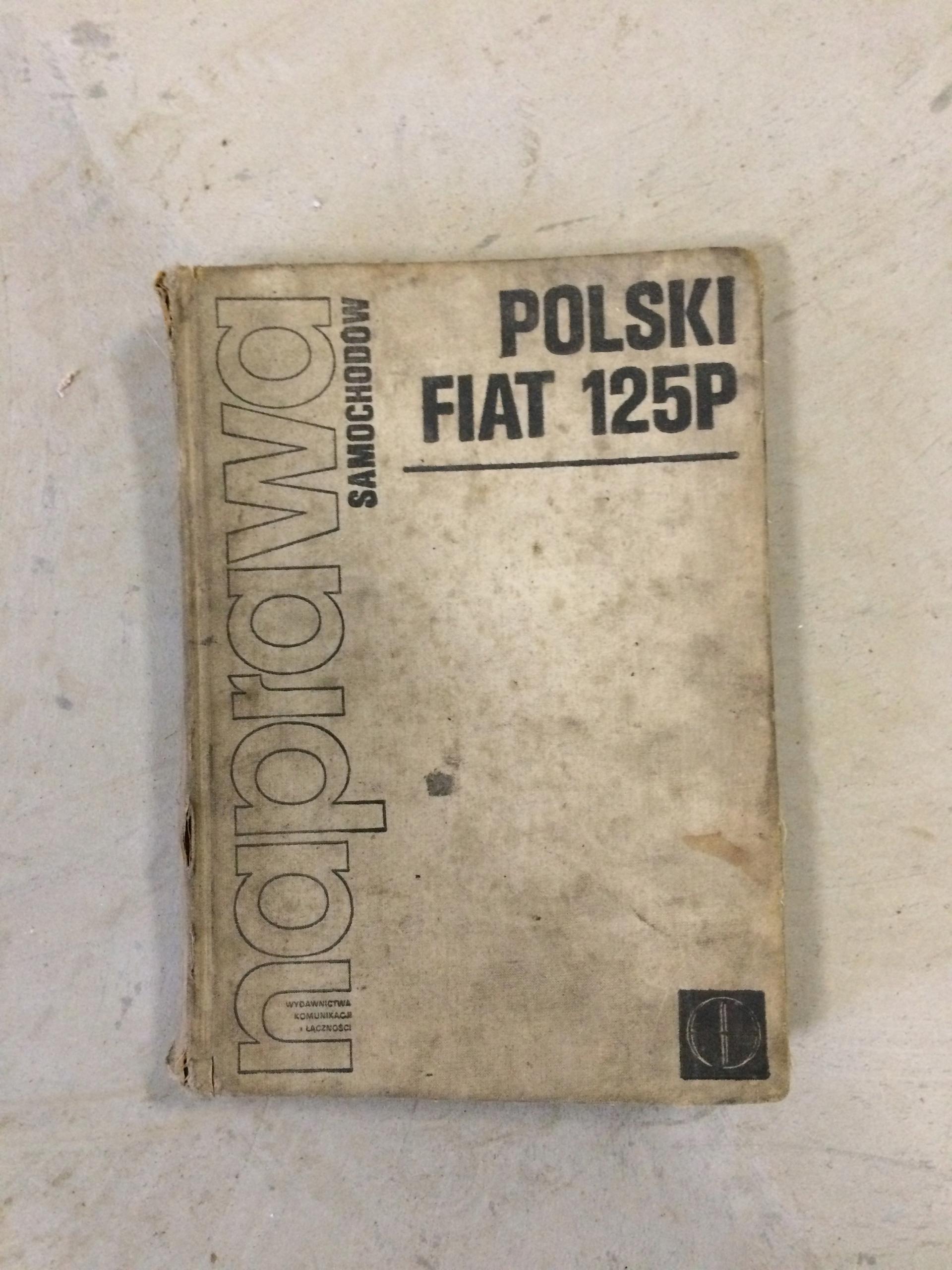 Duża książka FSO Polski Fiat 125p