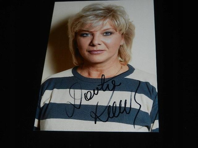 Super cena - Autograf- Kamińska Dorota
