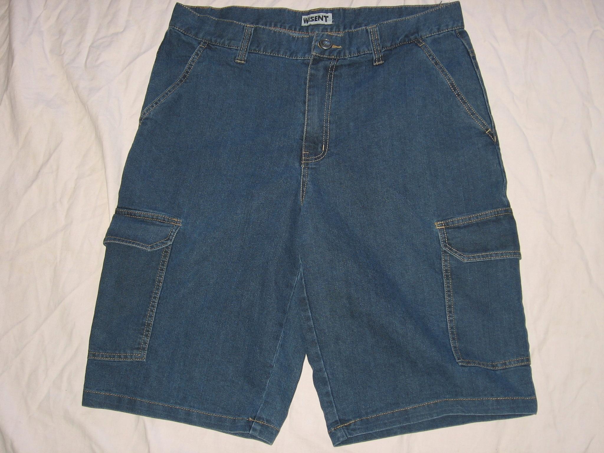 spodenki krótkie jeansowe dżinsowe pas 92-96cm 52