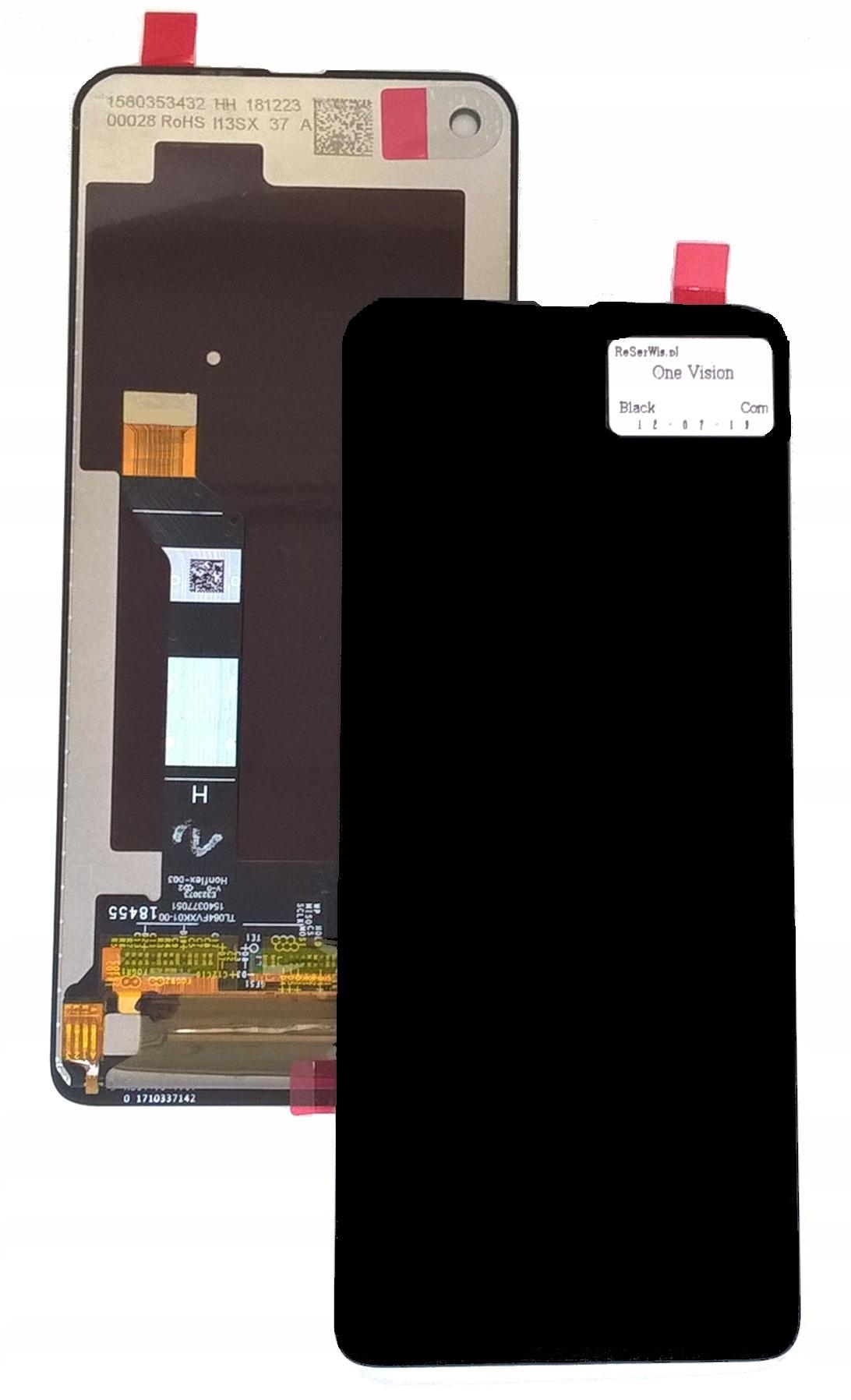 Oryginalny Wyświetlacz LCD Dotyk Moto One Vision