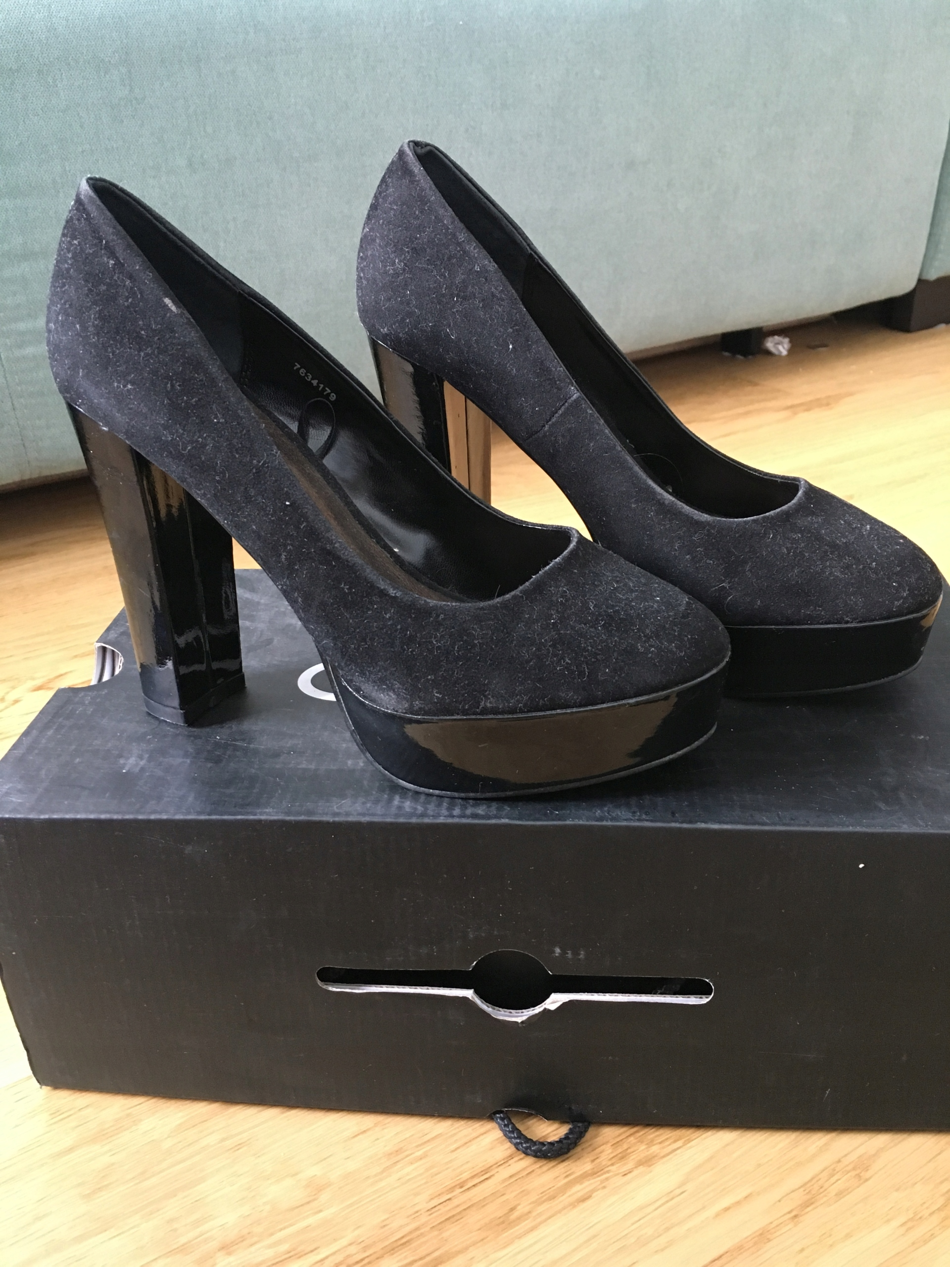 Atmosphere buty damskie szpilki wysokie na SŁUPKU