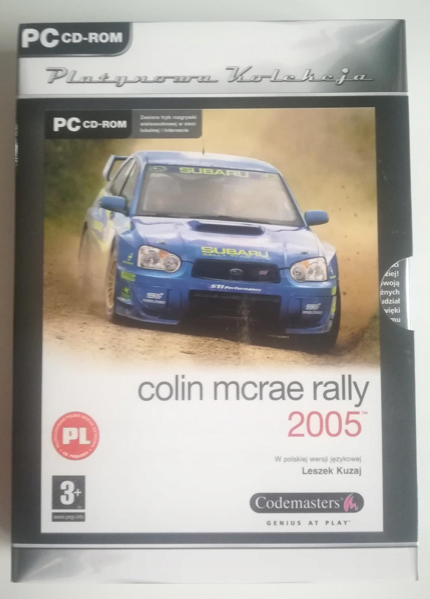 Colin Mcrae Rally 2005 - 5CD klasyka gatunku