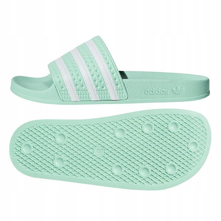 Klapki Damskie adidas Originals Adilette zielon 39
