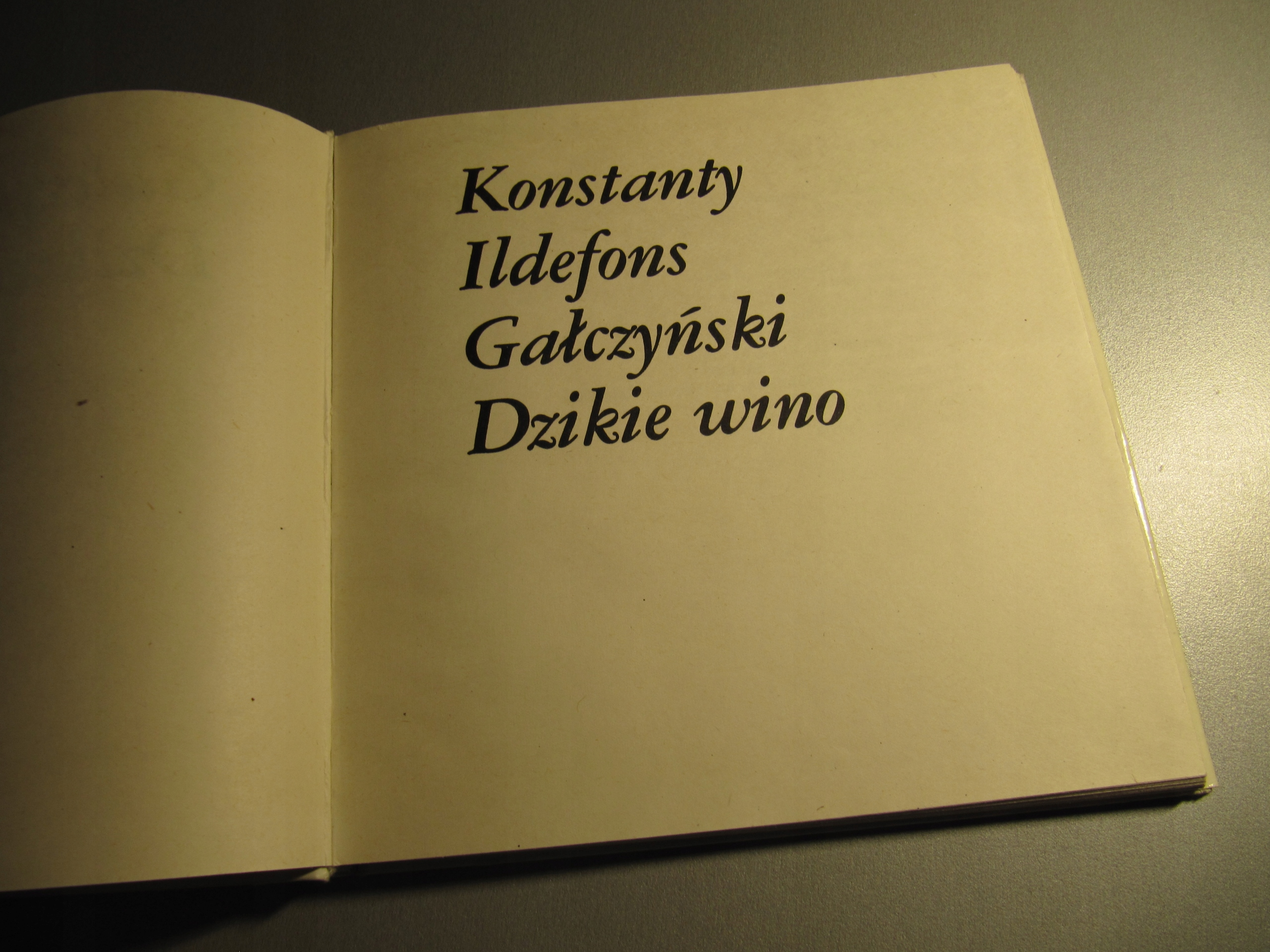 Gałczyński Wiersze Rec Autor I Aktorzy Winyl 1980