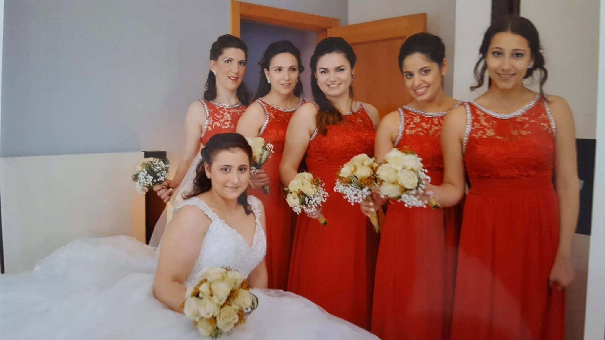0213b5c9ca DŁUGA SUKIENKA zdobiona wesele ślub druhny - 7856357428 - oficjalne ...