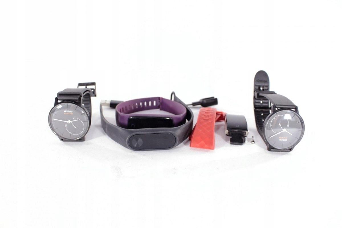 Niesprawne Zegarki Monitorujące Aktywność - Zestaw